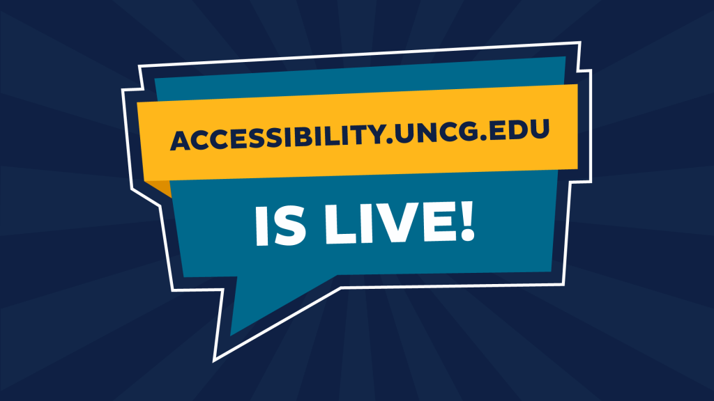 accessibility website live graphic